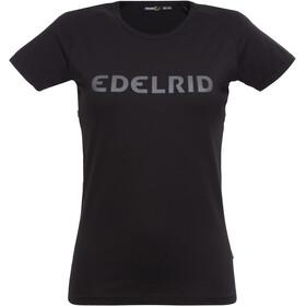 Edelrid Rope - Camiseta manga corta Mujer - negro